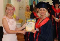 The solemn ceremony of awarding diplomas to students of the Law Institute