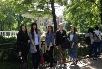 The students visited the ER Law Institute of the Kiev State Zoological Park