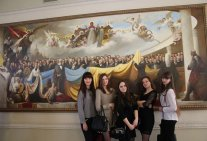 Excursion to the Verkhovna Rada of Ukraine