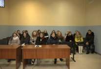 Students tour to the Law Institute in Kyiv Appeal Administrative Court