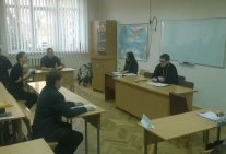 The judicial debate in Kyiv Professional Pedagogical College named A. Makarenko