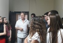 Students of NN LI familiarized themselves with the activities of the Supreme Administrative Court of Ukraine