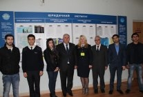 Meeting of Law Institute's students from Azerbaijan with a famous countryman