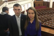 Student of Educational and Research Institute of Law is a participant of IIId All-Ukrainian Parliamentary Law School