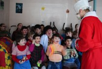 Students of Law Institute presented the tale to  the pupils of Darnytsa Orphanage