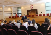 Training in Poland: a view of Law Institute students