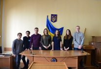 Law students attended the hearings on consideration of criminal proceedings
