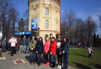 The students visited the UN Law Institute of Water Information Centre
