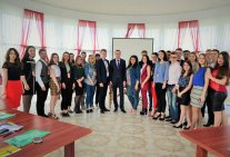 Students-masters of Educational and Research Institute of Law - participants of II All-Ukrainian school «The subtlety of the trial process»