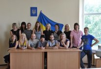 Meeting of graduating students of 2006 in the Legal institute